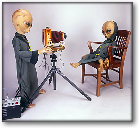 Picture of an Alien portrait photographer