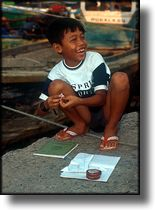 Photographs, The children of North Jakarta