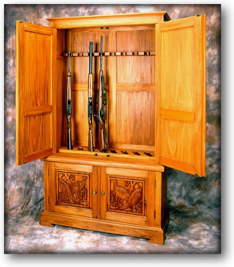 Gun Cabinet, Sample Product Photography