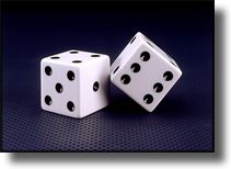 Picture of Dice, Macro Close up photography
