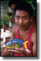 picture of wood carver, bali, indonesia