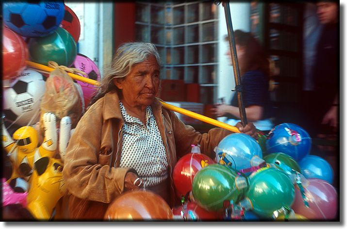 Photograph of, Ensenada Mexico, street vendor