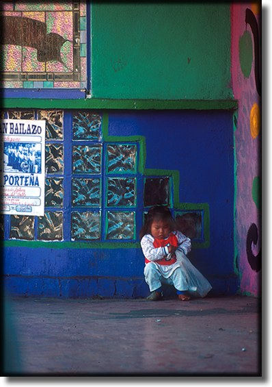 Photograph of, Ensenada Mexico, indian child